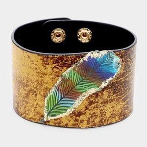 Jewelry - Feather Cuff